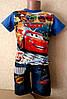 Костюм для мальчика шорты  и футболка  Тачки Маквин 122-128 см