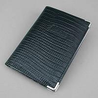 Обложка для прав уголок кожаная черная Desisan auto-143 Турция, фото 1