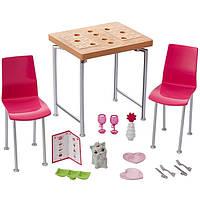 Barbie Мебель для кукол Отдых дома Обеденный стол Barbie Dining Set & Kitten