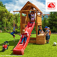 Детский игровой комплекс из дерева Fortress Toybox FunGoo 03515