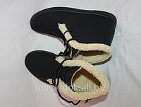 Ботинки сникерсы  холодная осень теплая зима 35,36