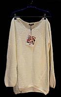 Вязанный пуловер AJC Германия европейские размеры С, М