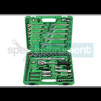 Набор инструмента комбинированный TOPTUL 82 единиц GCAI8201/SATIN(6PT)