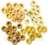 Люверсы We R Memory Keepers, 60 шт., 5 мм Yellow