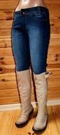 Женские джинсовые удлиненные шорты  PlayBoy . Размеры С и М