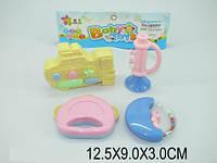 Комплект детских погремушек в пакете