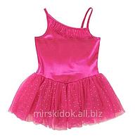 Купальник с пришитой юбкой, трико,  платье для танцев, хореографии, гимнастики Danskin США