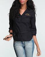 Стильная  женская рубашка жакет  Luxirie Л, 46-48 . Последняя с максимальной скидкой
