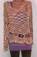 Эксклюзивный джемпер пуловер туника  LAURA SCOTT -  интересные идеи для весенне-летнего гардероба