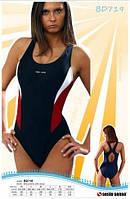 Купальник спортивный женский закрытый Sesto Senso BW 719 (купальники женские)