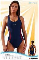 Купальник спортивный женский закрытый Sesto Senso BW 721 (купальник женский сплошной)
