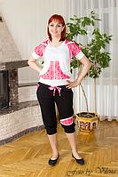 Спортивный костюм из трикотажа двухнитки 1012