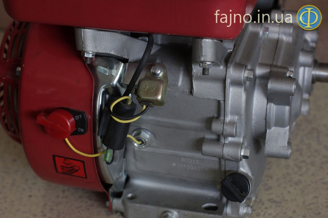 Двигатель с редуктором Булат 170F-L фото 3
