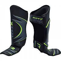 Накладки на ноги, защита голени и стопы RDX GREEN L/XL
