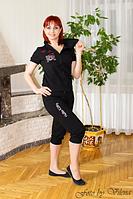 Спортивный костюм из трикотажа двухнитки 1011