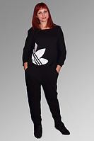 Спортивный костюм из трикотажа двухнитки. 1008