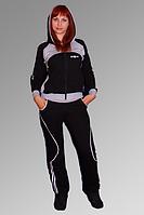 Спортивный костюм из трикотажа двухнитки 1002