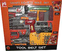 Игровой набор инструментов 50 деталей. Юный строитель 2095-2115