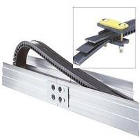 Бесшарнирная цельная кабеленесущая цепь (траковый токоподвод)