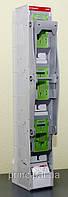 Рубильник выключатель нагрузки вертикальный 400А для ножевых предохранителей типа NH цена купить