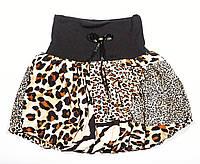 Детская юбка леопард