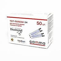 Тест полоски Gamma Diamond DM, 50 шт