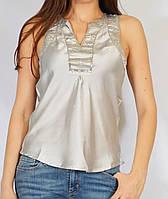 Блуза серебряная, 44 р, фото 1
