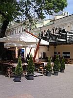 Зонт консольный для кафе  «XL» 3х3 м