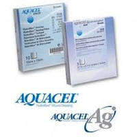 Аквасель с серебром (Aquacel Ag) 5*5 cм
