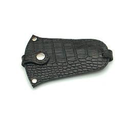 Ключница кожаная 01 черный кайман 06010201
