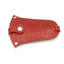 Ключница кожаная 01 красный кайман 06010206