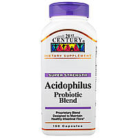 21st Century, Ацидофилин, пробиотическая смесь, 150 капсул