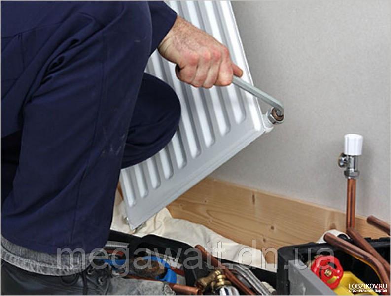 Монтаж радиаторов отопления в г. Покровск и районе