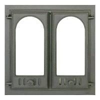 Дверца каминная, двустворчатая SVT 400 (595x595)