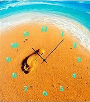 """Картина-часы (40х45 см) """"Морской прибой"""""""