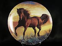 "Декоративная тарелка ""Конь. Скакун"""