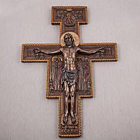 Крест на стену Распятие Христа 40 см
