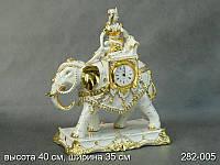 """Часы """"Слон с Девушкой"""" Италия."""