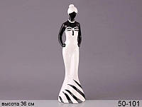 Статуэтка Девушка Джоанна 36 см, полистоун (арт. 50-101)