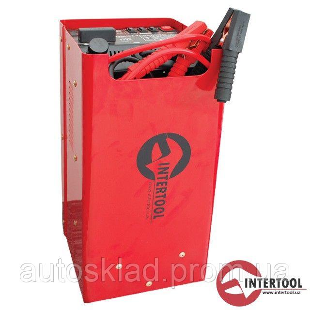 Пускозарядное устройство автомобильное Intertool AT-3016 12В-24В 230В 400А 50/60Гц 1.2кВт