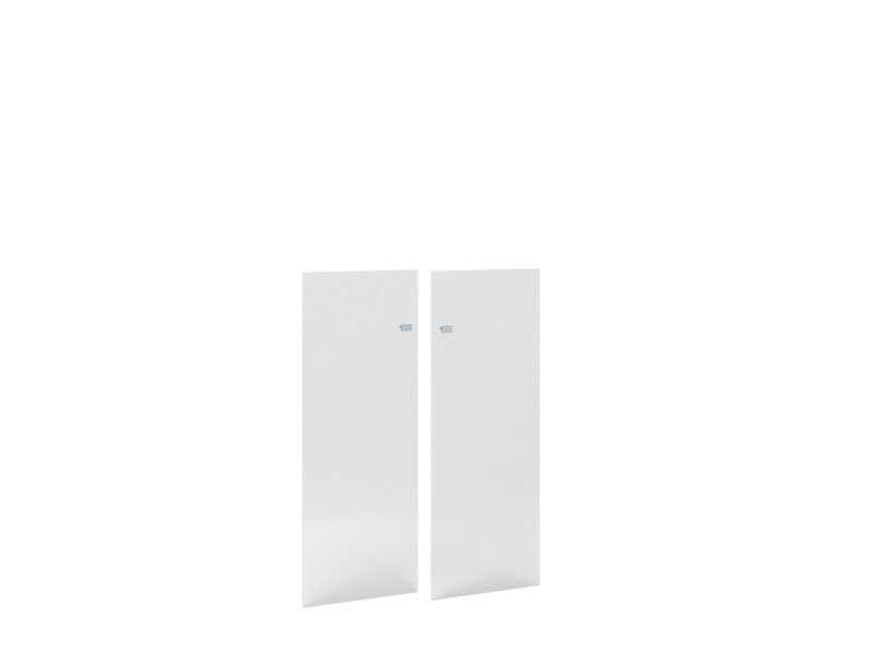 Дверь стеклянная левая 457x5x1208 П815