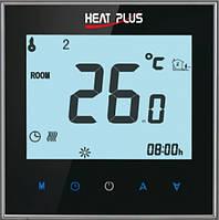 Терморегулятор HEAT PLUS iTeo4 (программируемый сенсорный) черный