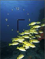 """Картина-часы (30х40 см) """"Под водой"""""""