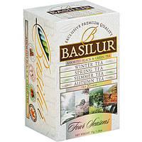Черный чай Basilur Ассорти 4 сезона в пакетиках, 20 пак.