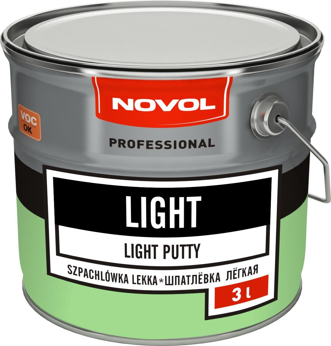Шпаклевка Novol Light 3 л.