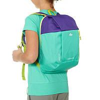Рюкзак детский  Kid 5 литров зелено-фиолетовый