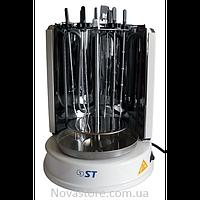 Шашличниця електрична 3 в 1 (шашлык, гриль, шаурма); 6 шампуров, 1400 Вт