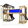 Детская игровая площадка игровой комплекс с 2 горками и фотопечатью №11