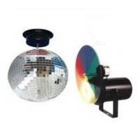 NightSun SN024 набор: зеркальный шар, двигатель прожектор