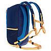 Рюкзак туристический синий для спорта и города на 20 литров, фото 4
